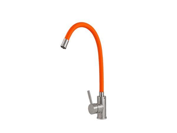 СМЕСИТЕЛЬ PREMIAL SPRF8105 FLEX COLOR - Оранжевый