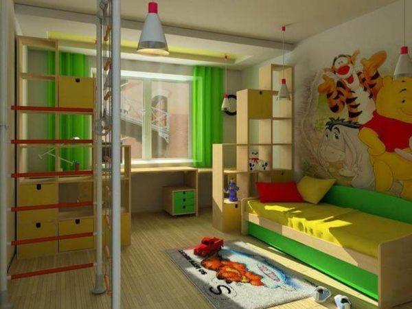 """Детская комната """"Мадагаскар"""""""