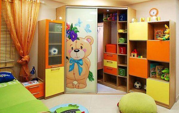 """Детская комната """"Винни-Пух"""""""