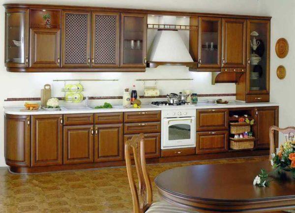 """Кухня из массива дерева """"Сандал"""""""
