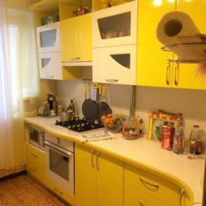 """Кухня из эмали """"Ирис"""""""